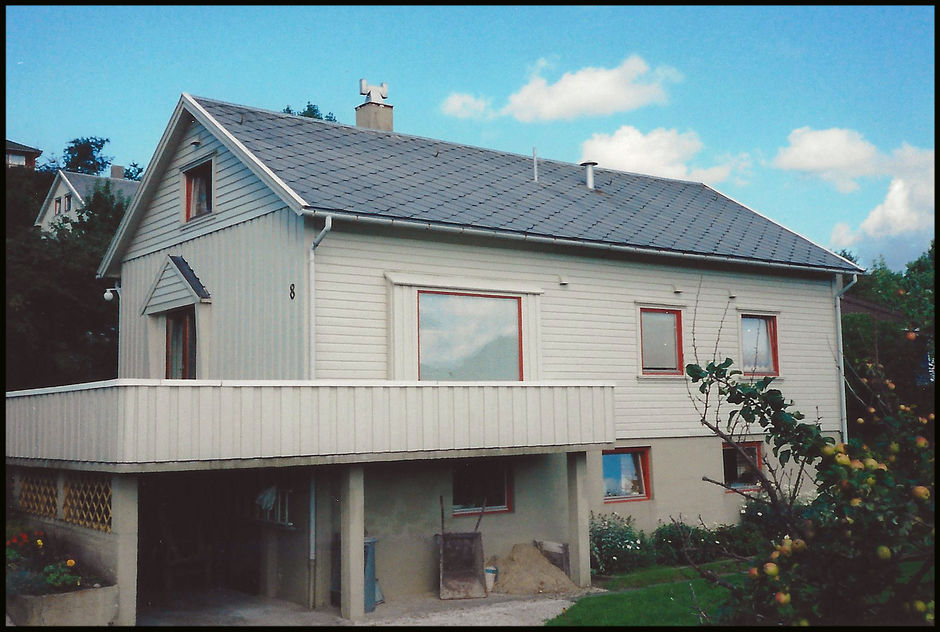 Egebakken 8, Egersund, Norway, early 90's.
