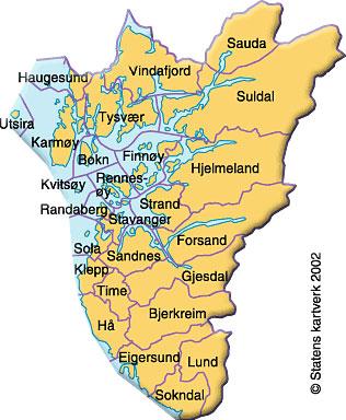 kart over rogaland EGERSUND   Presentasjon av Egersund, Eigersund og Dalane kart over rogaland