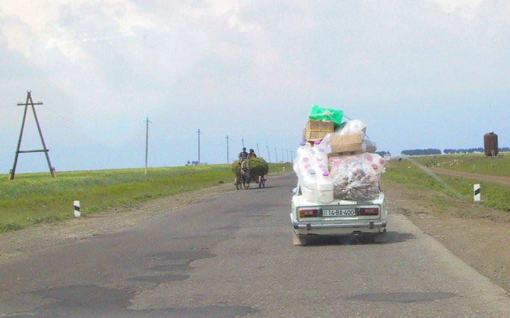 Fullstablet Lada, Aserbajdsjan.