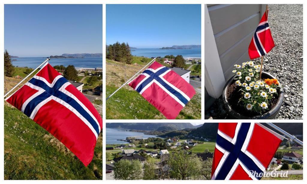 17. mai og norske flagg
