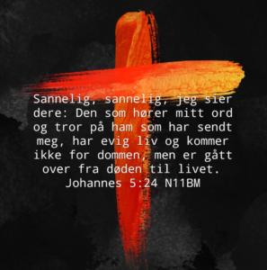 Bibelvers Joh. 5, 24