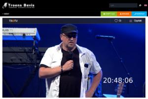 Rune Edvardsen, sommerstevnet 2018 via Web-TV