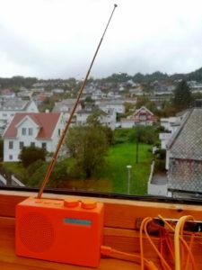 DAB-radioen på jobb