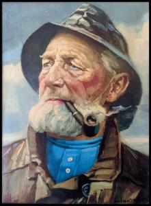 """Maleriet """"Fiskeren"""""""