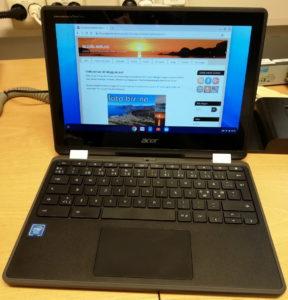Acer Chromebook Spin 11.