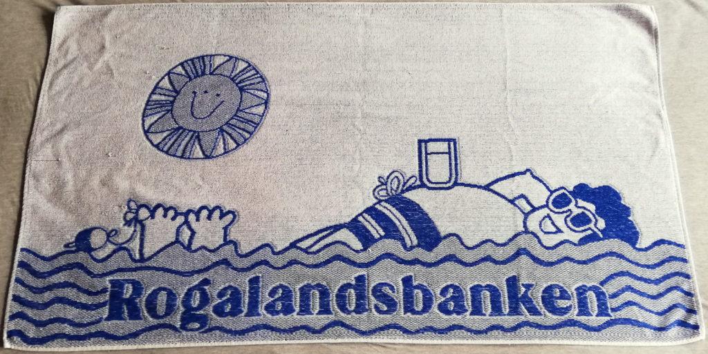 Rogalandsbanken badehåndkle