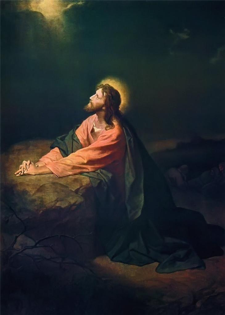 Jesus i Getsemane.