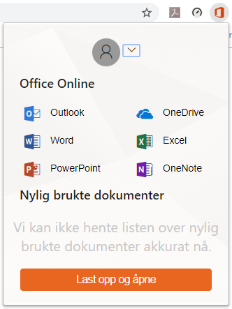 Office Online i Chrome