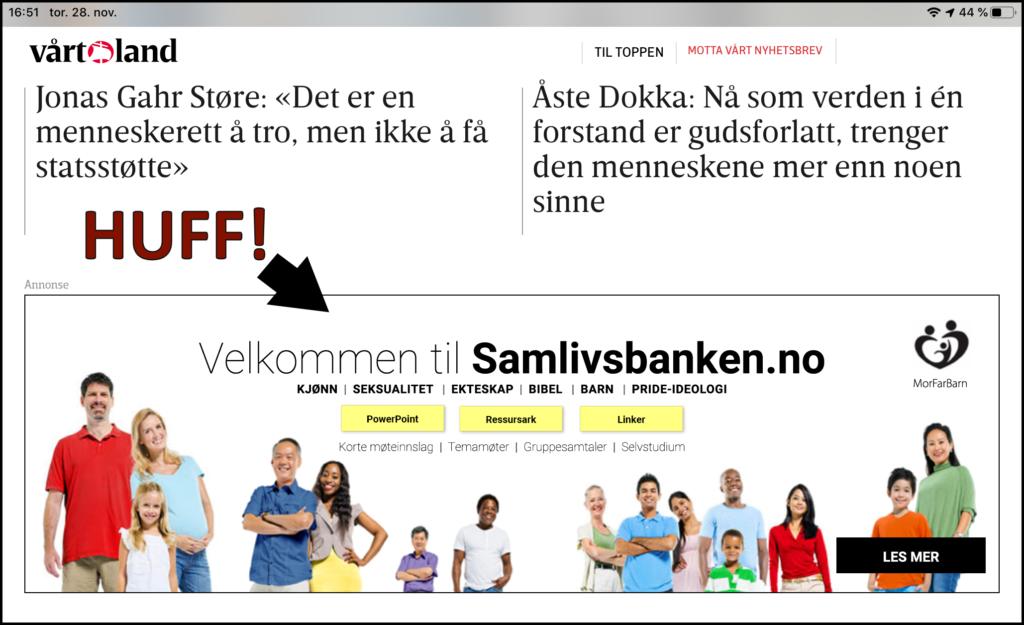 Samlivsbanken.no