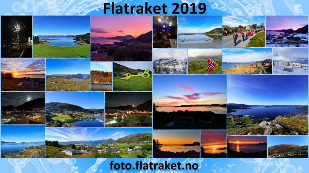 Kollasj 2019 Flatraket