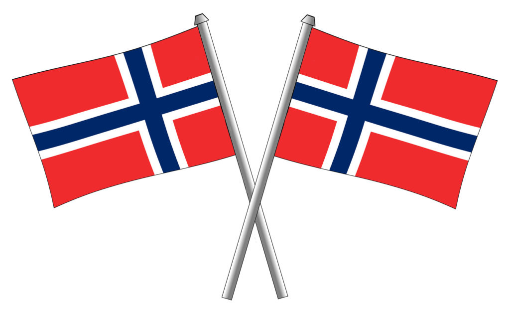 17. mai-flagg