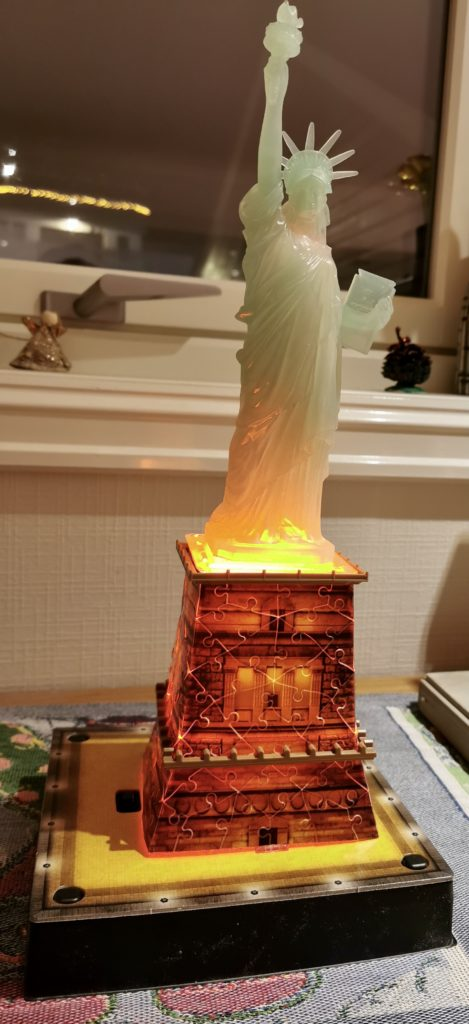 Frihetsgudinnen i miniatyr